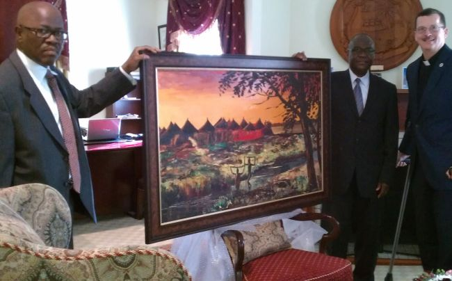 painting unveiled small